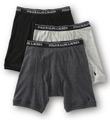 Polo Ralph Lauren Classic Fit Cotton Long-Leg Boxer Brief - 3 Pack LCLB